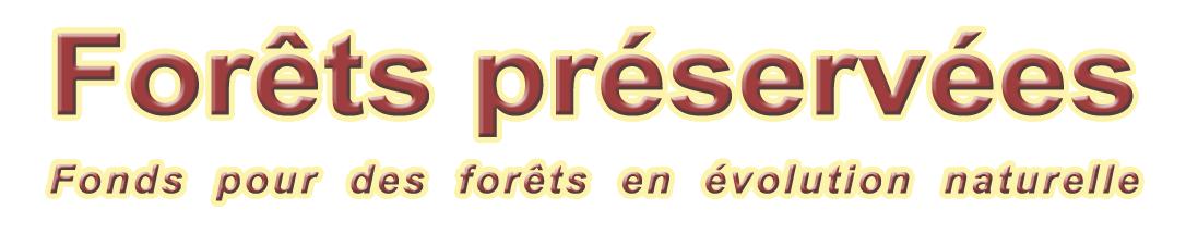 Forêts préservées