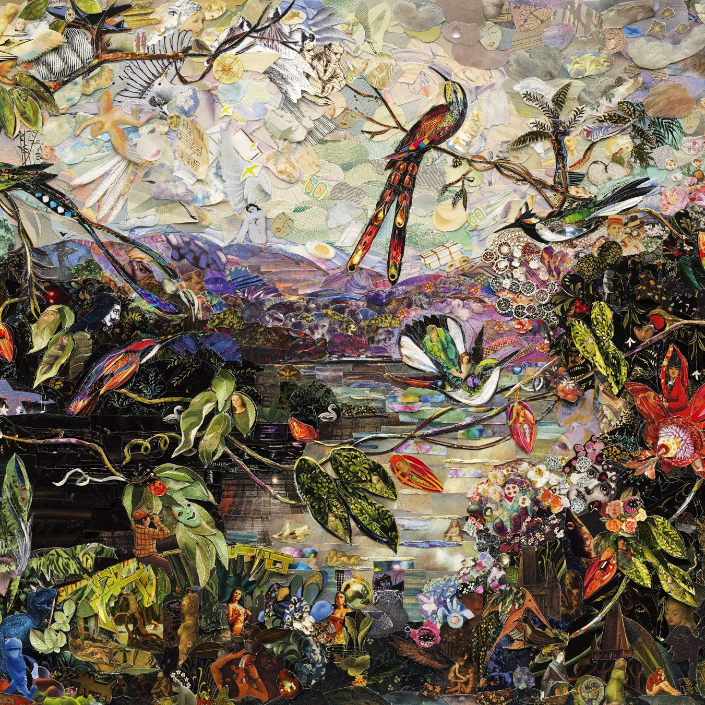 ©Vik Muniz, Ten Humminbirds, after Martin Johnson Heade (Repro series), 2020