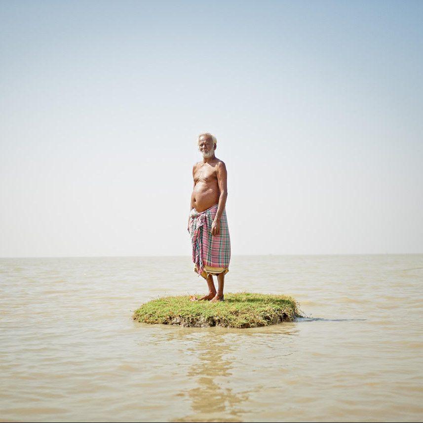 ©Daesung Lee, Sur le rivage d'une île qui disparaît